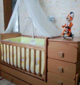 Кровать детская, ульяна-2