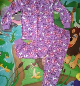 Пижама детская новая 100% хлопок