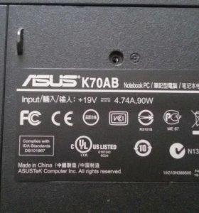 Корпус для Asus K70AB
