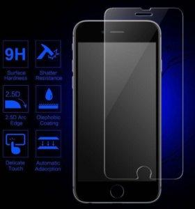 iPhone 5/5S/6/6S/7 Закаленное защитное стекло