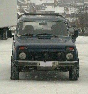 Автомобиль ВАЗ 4×4 (НИВА)
