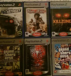 PlayStation 2 игры (лицензия)