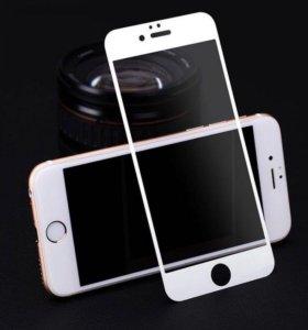 Защитное стекло iPhone 6, 6s