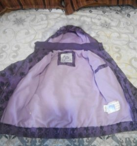 Куртка для девочки 116