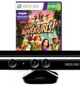 Кинект + диск Xbox 360