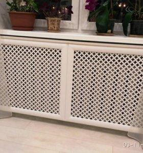 Декоративные экраны для батарей топления