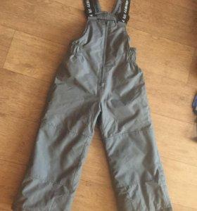 Зимние штаны, размер 110, GUSTI