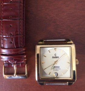Часы мужские позолоченные