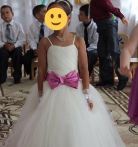Детское выпускное платье