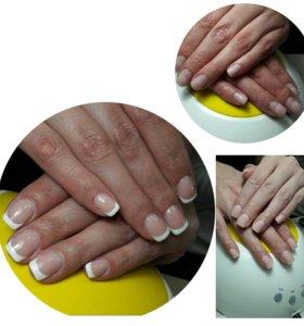 Моделирование (наращивание) ногтей гелем