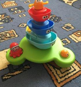 Yookidoo игрушка для ванной фонтан