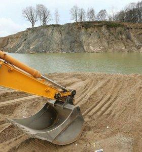 Песок строительный фракция 1.6 ГОСТ