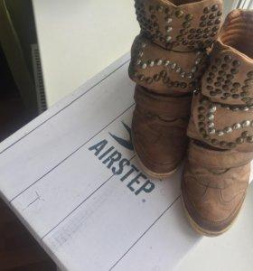 Ботинки из натуральной кожи Airstep