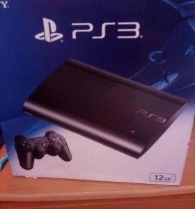 Игровая приставка  SONY PS3 12 GB