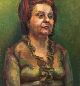 Портрет женский масло