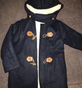 Пальто утеплённое!