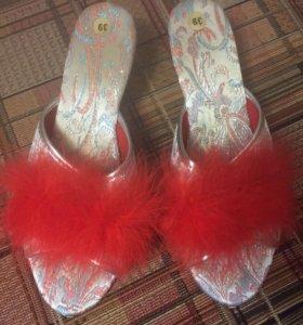 Туфли домашние