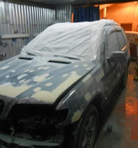 Малярно-кузовной ремонт авто