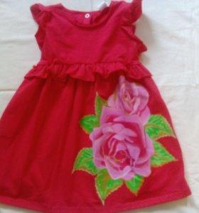 Новое платье на 1 - 2 года