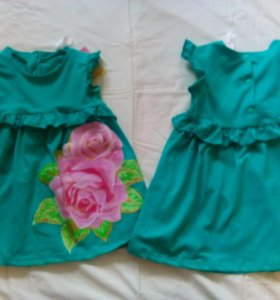 Платье новое на 1 - 2 года