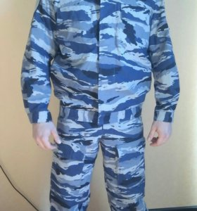 Комуфлированный костюм летний