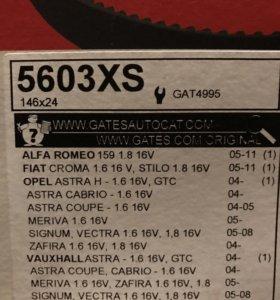 Ремень ГРМ для Опель Астра H gtc z16xer