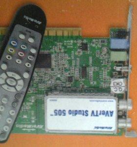 TV тюнер для компьютера AVer TV 505( FM)