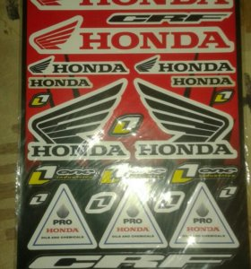 """Продам мотоциклетные наклейки""""Honda"""""""