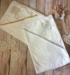 Крестильные полотенца и полотенца-уголки для новор