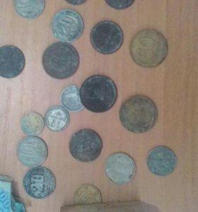 Монеты ссср есть и китайская 50-60 год за все моне