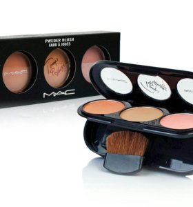 Mac Powder Blush Rouge Fashion 3 Color Румяна
