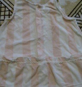 Купальное платье+трусики