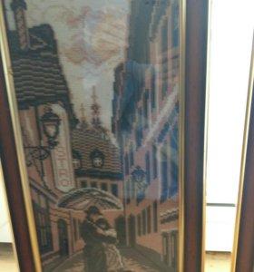 Картина вышивка крестом. Дуплекс