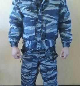 Зимний комуфлированный костюм