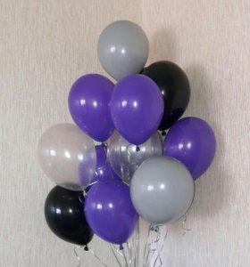 Гелиевые шары 15 шт