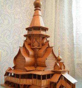 Церковь Св. Николая в Измайлово. Мини модель