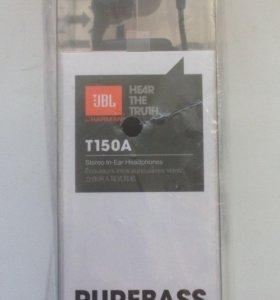 Продам новые наушники JBL T150A