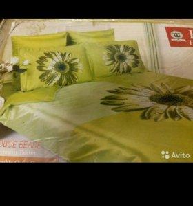 Комплект постельного белья шелковое размер евро