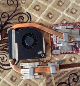 Видеокарта на ноутбук. С системой охлаждения