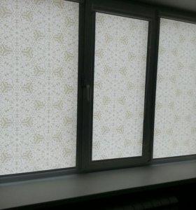 Рулонные шторы.жалюзи