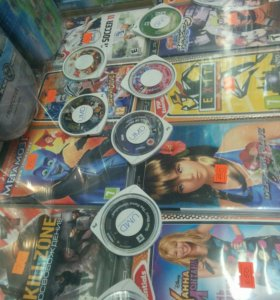 UMD Игры PSP
