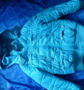 Куртка весенняя на синтепоне рост 116-128