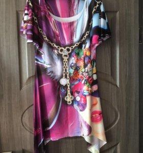 Платье туника! 1+1=3🎁