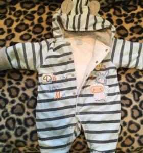 Комбинезон детский 3-6 месяцев