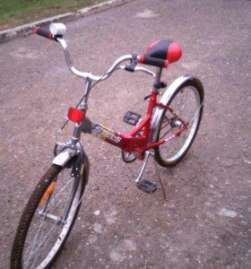 Велосипед подростковый дорожный