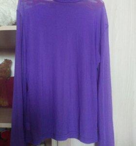 Водолазка-блузка