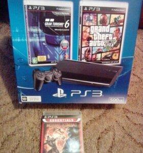 PS3 консоль 500Gb