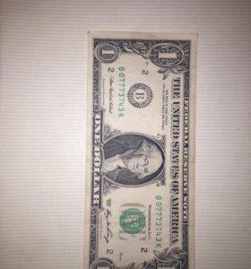 1 доллар США 2006