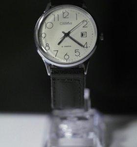 Механические наручные часы Слава. 21 камень. СССР