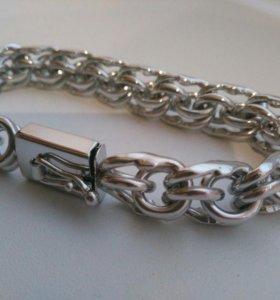 Цепь-браслет серебро 925